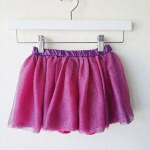 Gymboree Pink Glitter Tulle Tutu